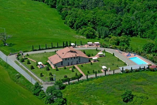 agriturismo a Volterra con piscina