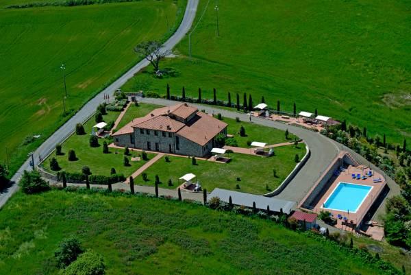 agriturismo vicino Certaldo con piscina